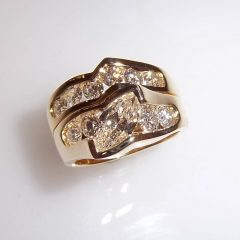 Unusual Anniversary Rings