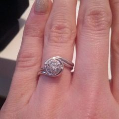 Custom Wedding Band To Fit Engagement Rings