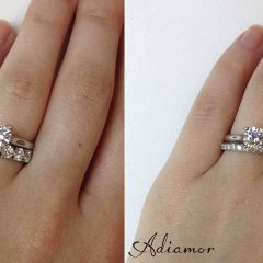Wedding Rings To Go With Solitaire Engagement Rings