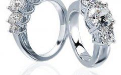 5 Stone Anniversary Rings