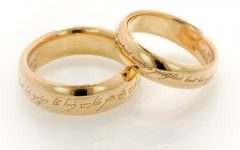 Wedding Rings with Name Engraved