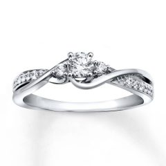 White Gold And Diamond Wedding Rings