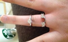 Engagement Rings Wrap Around Band