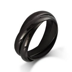 Onyx Wedding Bands