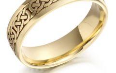 Mens Gold Engagement Rings