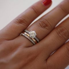 Eternity Rings With Wedding Bands