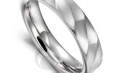 Wedding Rings Men Platinum