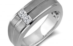 Mens Square Wedding Bands