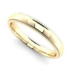 Womens Plain Wedding Bands