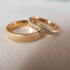 Love Story Wedding Rings