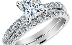 Princess Cut Diamond Wedding Rings for Women