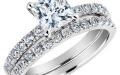 Princess Cut Diamond Wedding Rings for Women
