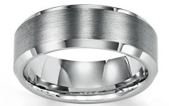 8mm Tungsten Carbide Wedding Bands
