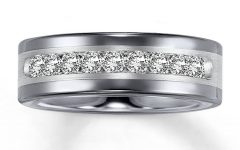 Tungsten Diamonds Wedding Bands