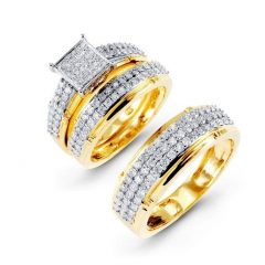 Zales Men's Diamond Wedding Bands