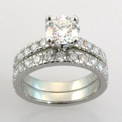Wedding Bands And Engagement Ring Sets