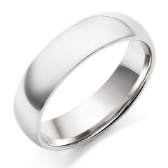 White Gold Men Wedding Rings
