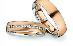 Rose Gold Platinum Wedding Bands