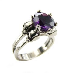Gothic Engagement Rings For Women